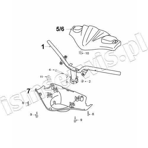 Speedfight 100 Zp Braking System Ajp Pos Description Code Price 1