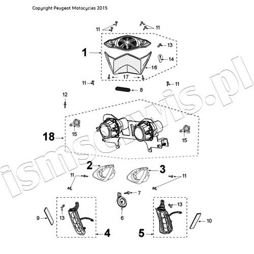 Speedfight 4 50 2t Lc Pure Braking System Pos Description Code